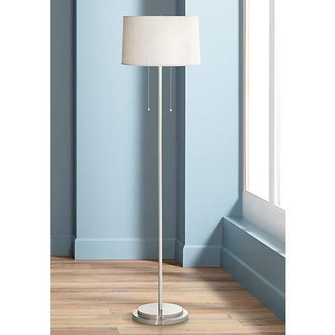 Simplicity Double Pull Modern Floor Lamp 78108 Lamps Plus Diy Floor Lamp Floor Lamp