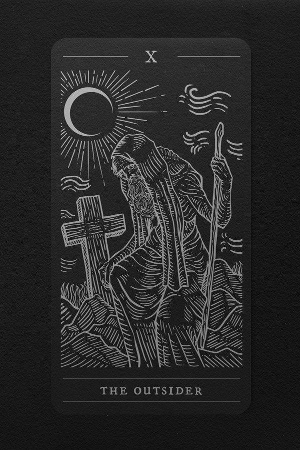 The Elder Tarot by Jan Pimping   Tarot Cards   Tarot