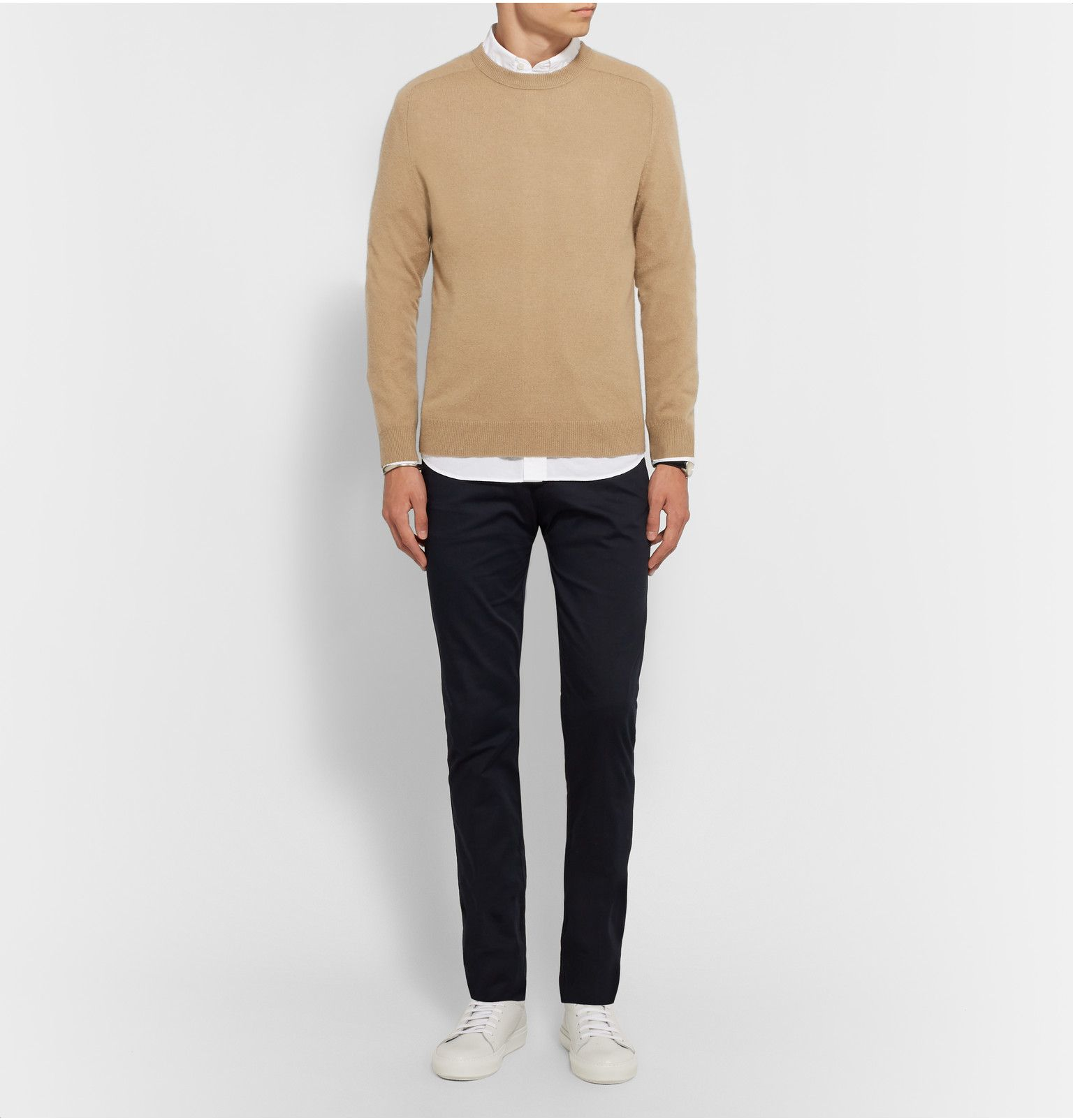 Acne Studio camel color cashmere sweater | Haberdash | Pinterest ...