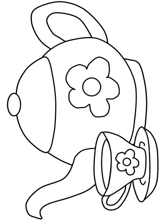 37 Tea Party Coloring Pages Ideas Coloring Pages Colouring Pages Coloring Books
