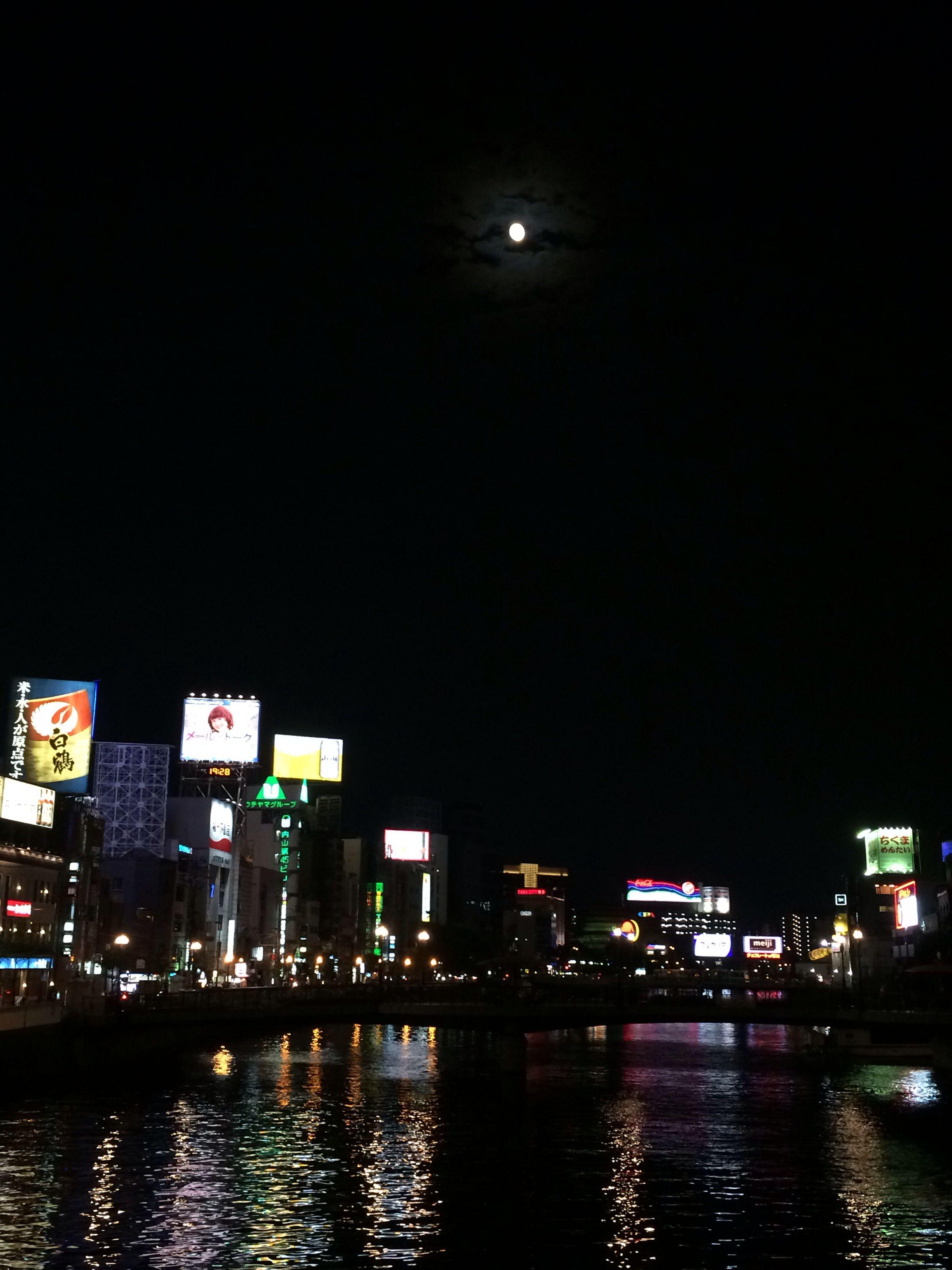 迎月夜@博多天神中央公園