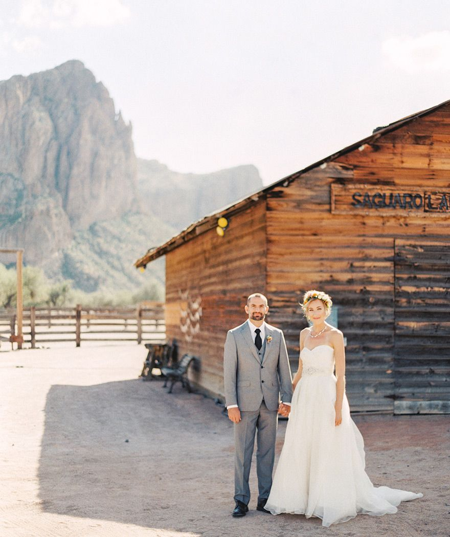Derek & Aubree Saguaro Lake Ranch Wedding Phoenix