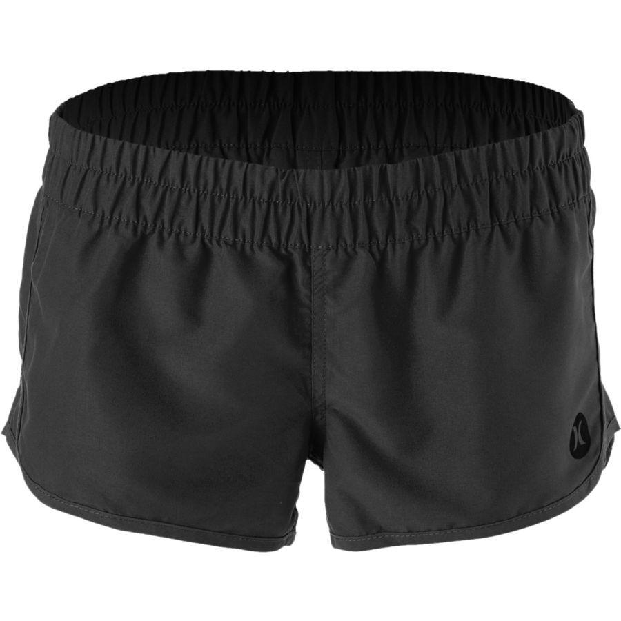 Hurley - Supersuede Solid Beachrider Board Short - Women's - Black