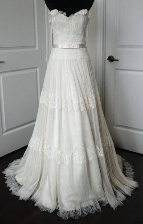 Worn Only Once At My Wedding Was Professionally Cleaned At Madame