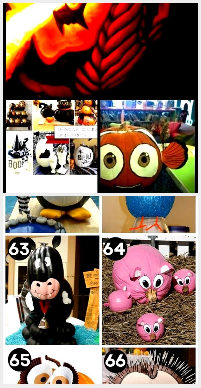 40 Creative Pumpkin Painting Ideas for a No-Mess Halloween #pumpkinpaintingideas...