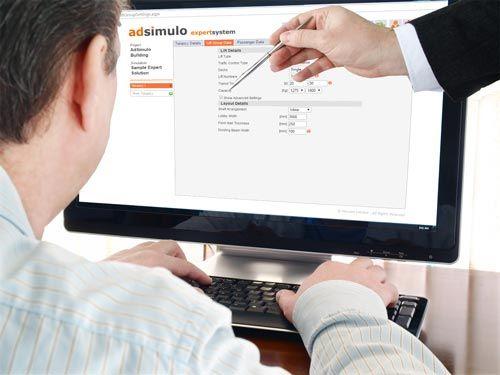 AdSimulo Expert Lift Design Application, Lift Traffic