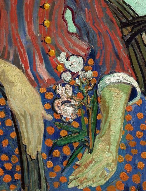 Resultado de imagem para La Mousmé van Gogh