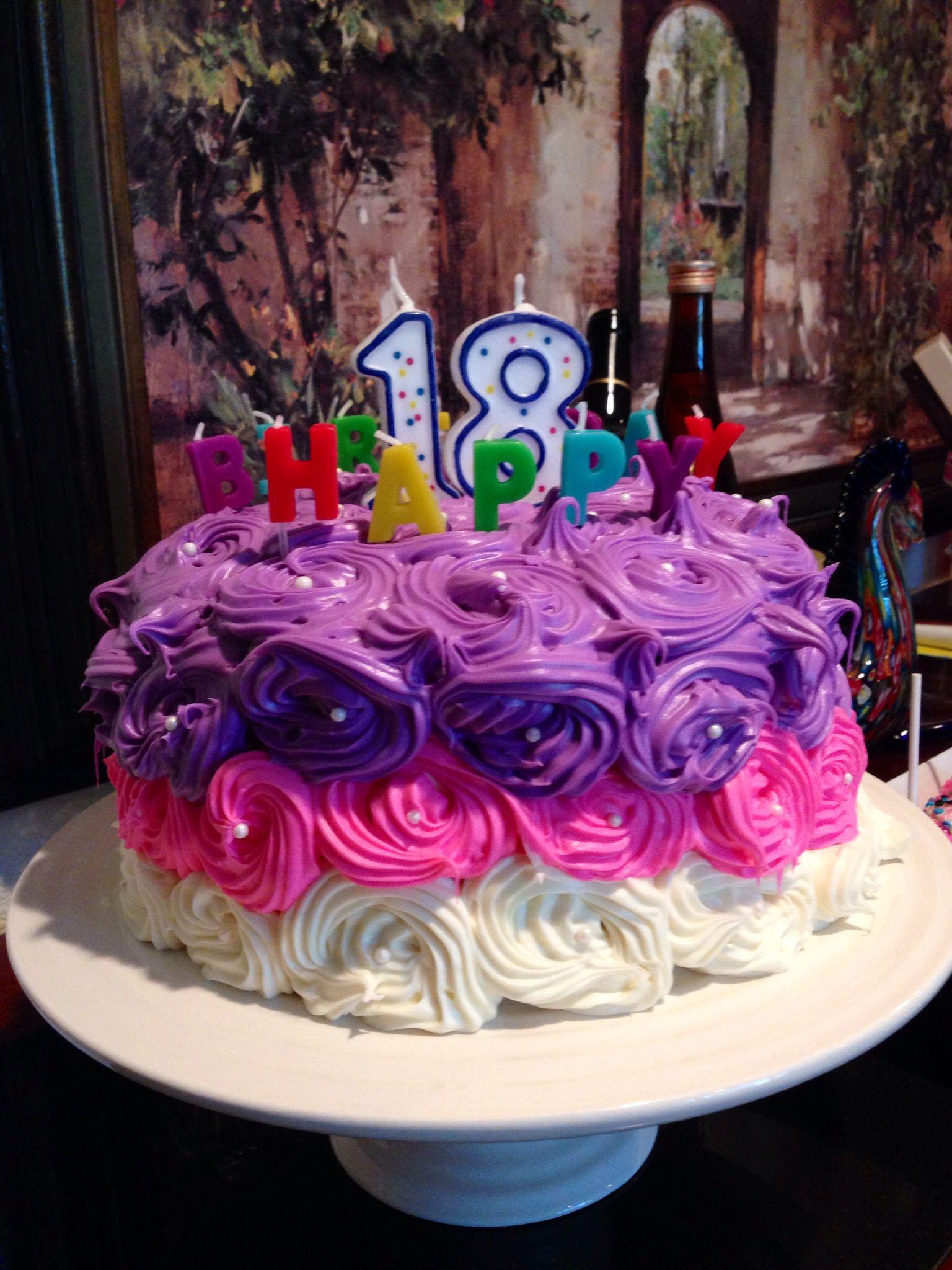 18th birthday cake 18th birthday cake pretty cakes