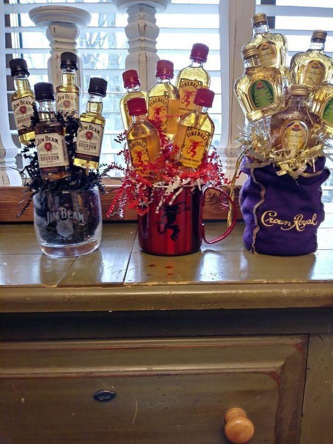 15 Best Diy Christmas Gift Ideas For Neighbors 32 Liquor Gifts Alcohol Gift Baskets Liquor Gift Baskets
