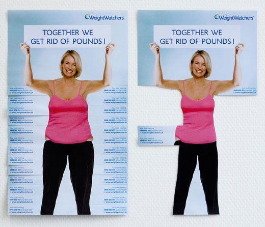 Creative marketing brochure