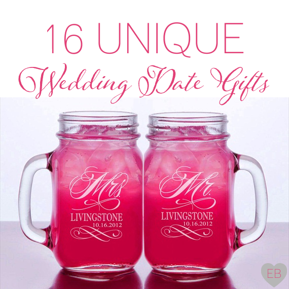 16 Unique Wedding Date Gifts Via Emmaline Bride Http Emmalinebride