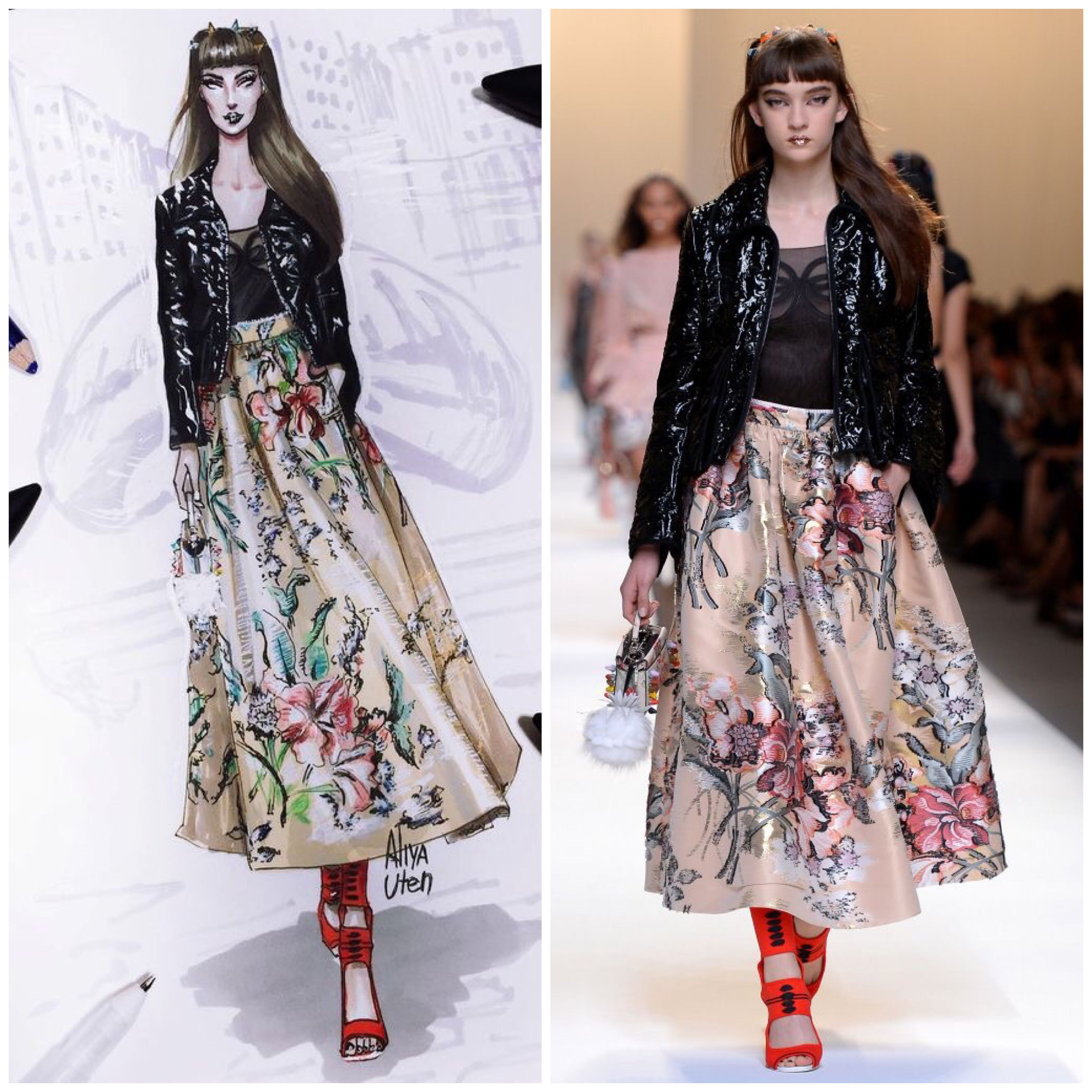 Pin by SheMoZza on Drawings dresses with final models