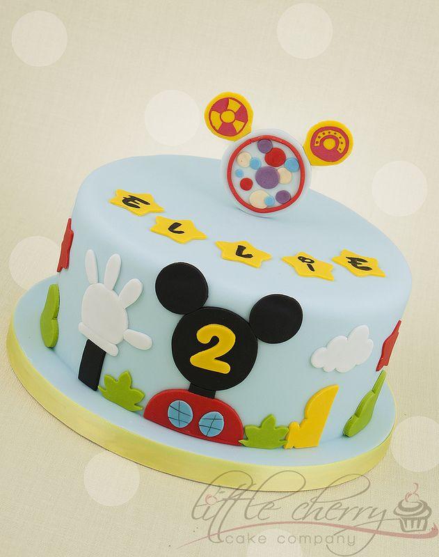 Mickey Mouse Clubhouse Cake Mickey mouse clubhouse cake Mickey
