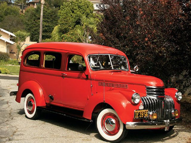 1942 Chevy Carryall Suburban Classic Cars Classic Cars Trucks