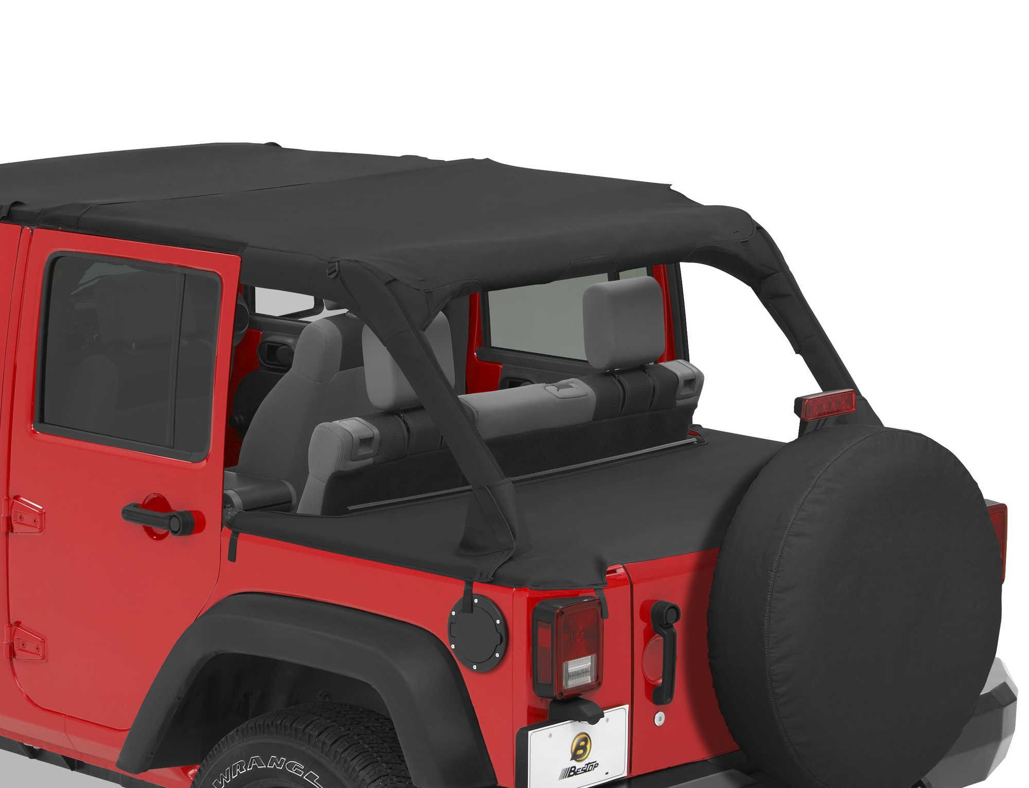 Bestop Duster Deck Cover For 07 16 Jeep Wrangler Unlimited Jk 4 Door Jeep Wrangler Jeep Wrangler Jk 4 Door Jeep Wrangler