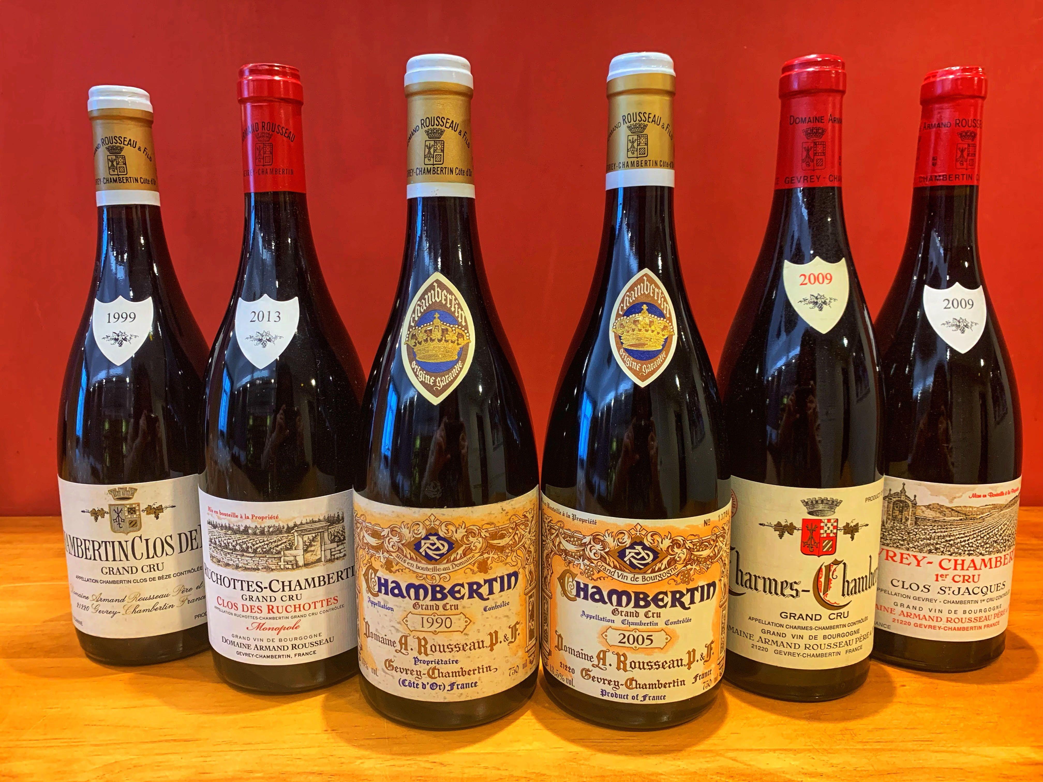Auction Graded Armand Rousseau On Sale Winemaking Wine Cellar Robert Parker