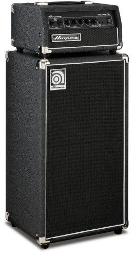 Ampeg Micro Cl Micro Cl Bass Amp Stack 100 Watt Head With 2 X 10 Cabinet By Ampeg 349 99 Let S Face Amplificador Guitarra Amplificador Guitarra Electrica
