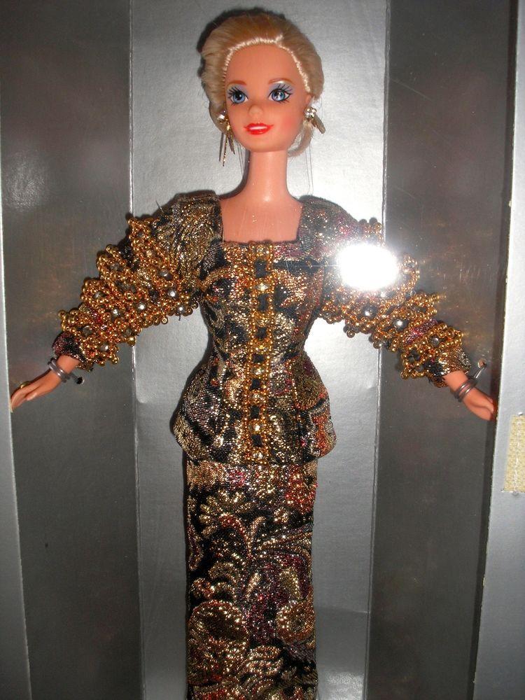 788ed9c5 1995 Mattel Christian Dior Limited Edition Barbie Doll #13168 - NRFB ...
