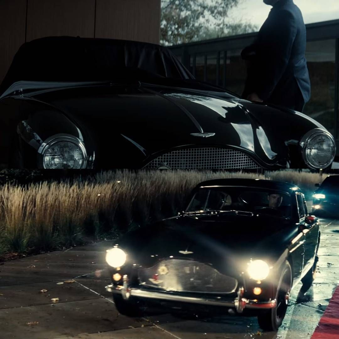 the aston martin db mkiii that bruce wayne (ben affleck) drives in