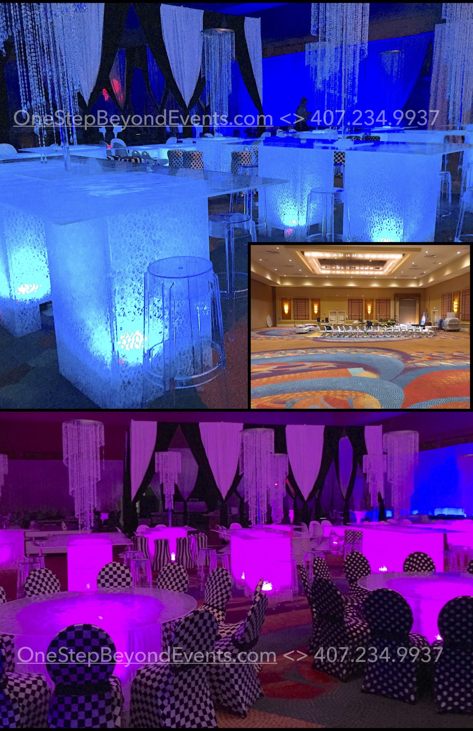 chair cover rental tampa portable travel high prom 50 off light up tables florida traveli