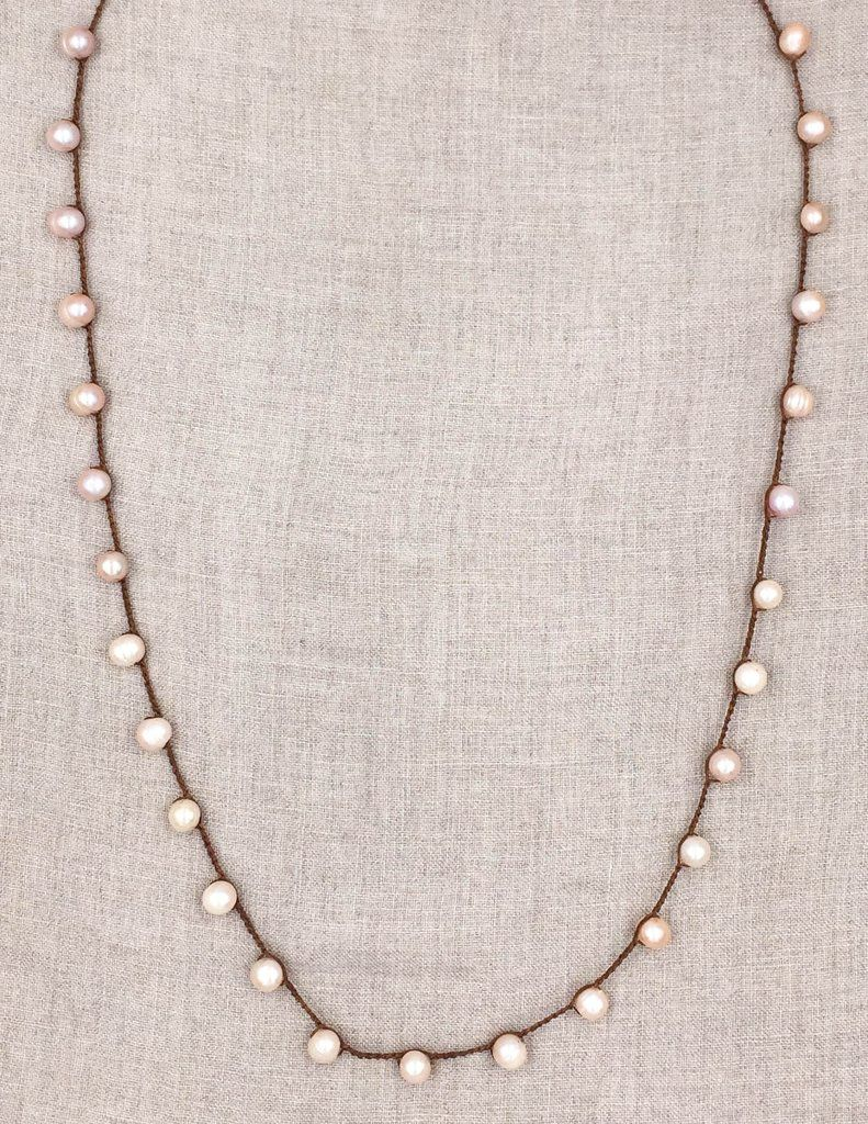 Elizabeth Mauve Pearl An Old Soul Jewelry Handmade In The Usa
