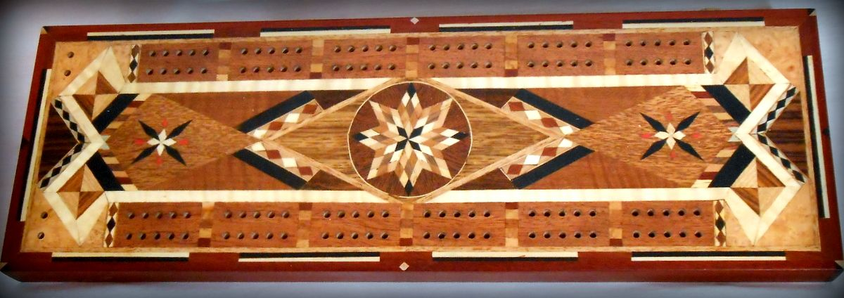 Image result wood projects projects cribbage board