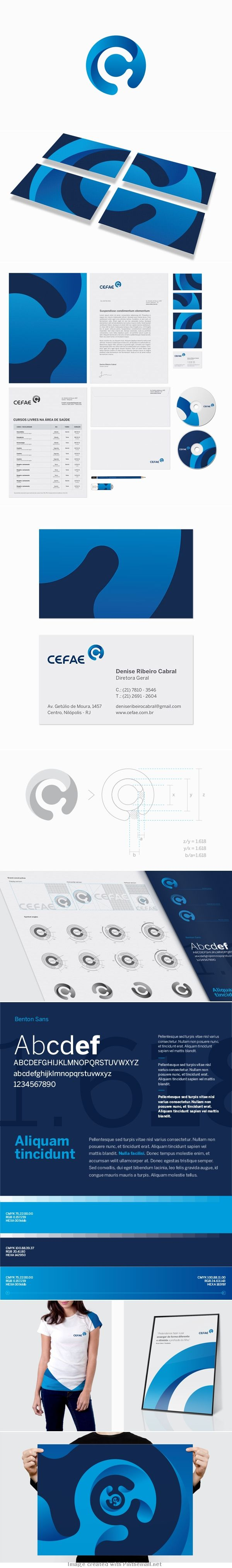 CEFAE  #branding #identity  Interesting but confusing. I don't think I'd take this approach but I've seen others who do it well