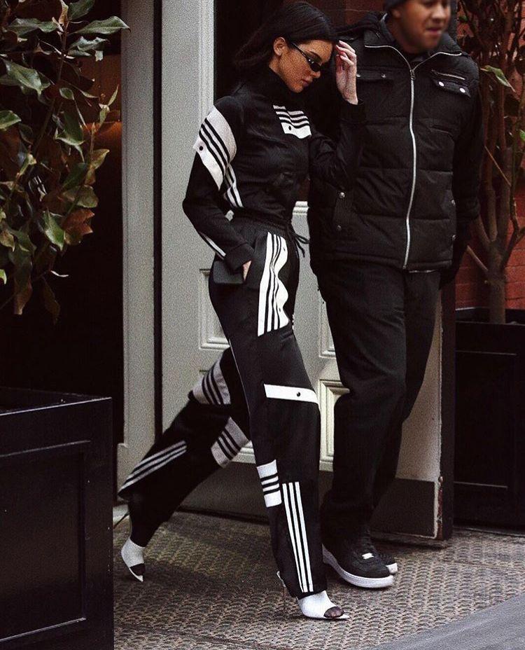 kendall jenner adidas originali da danielle cathari stile inspo