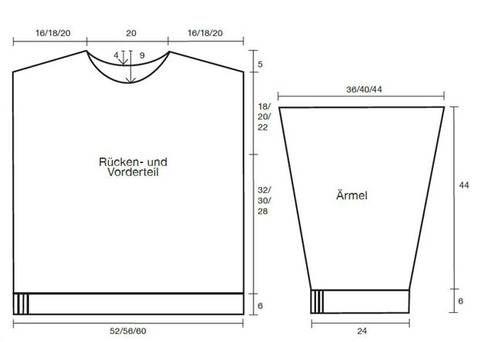 Photo of Strickmuster: Krausrechts Pullover – ein Strickmuster