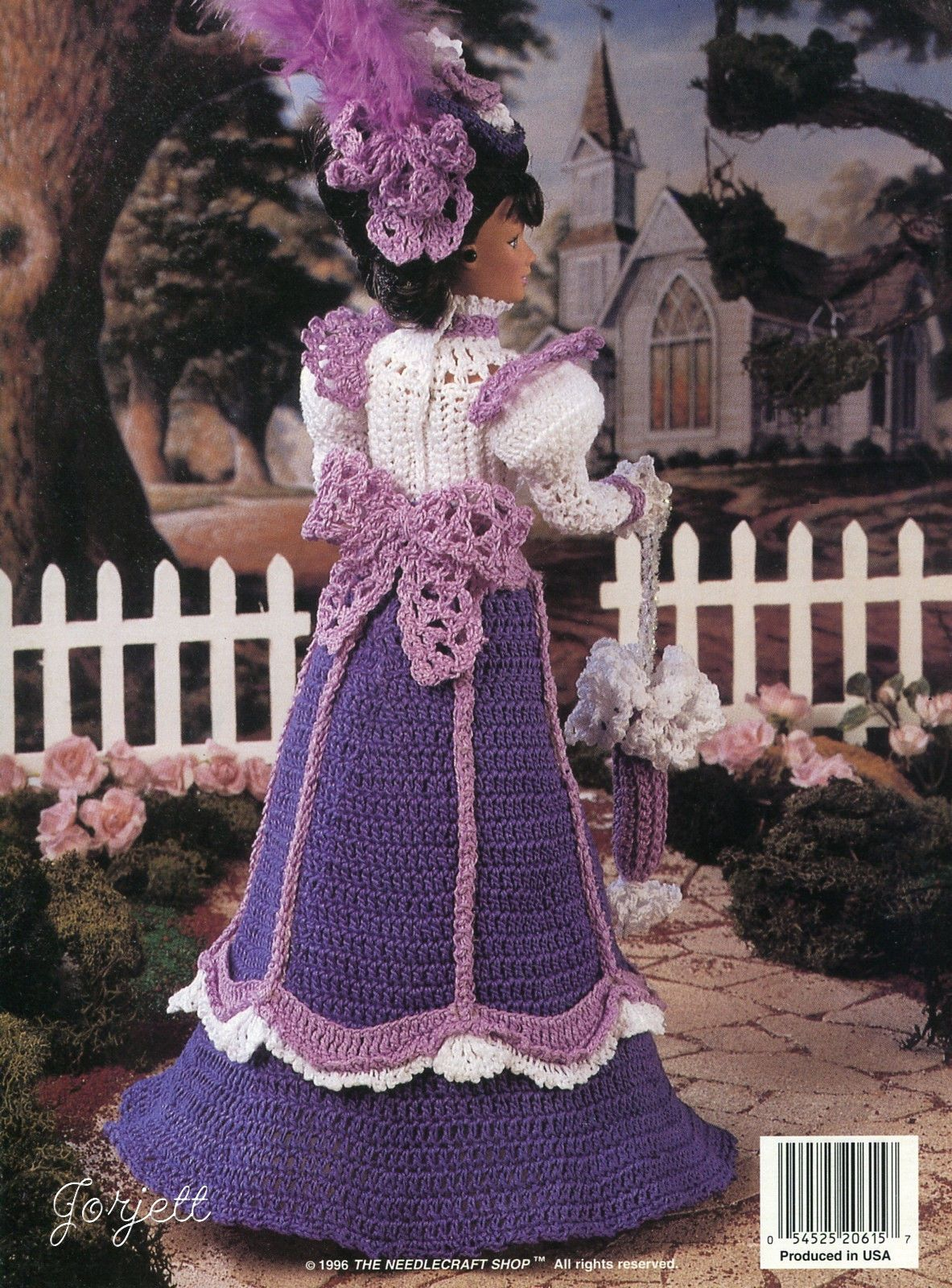 Isabella Of Madrid Outfit fits Barbie Doll Crochet PATTERN//INSTRUCTIONS Booklet