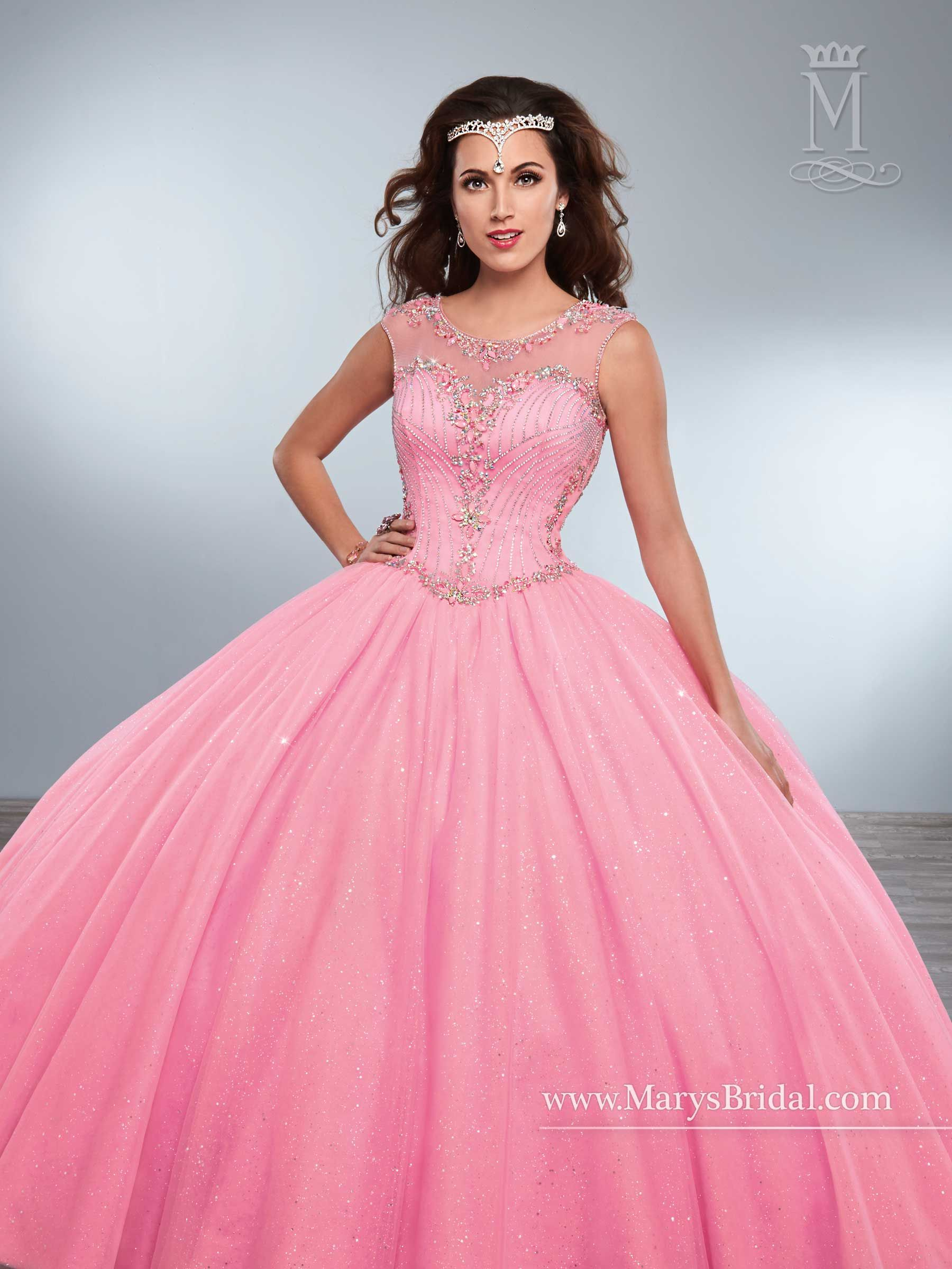 Quinceanera - Princess - Style: 4Q438 by Mary\'s Bridal Gowns ...