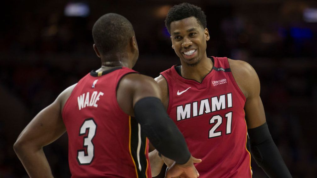Hassan Whiteside frustrated he's a nonfactor for Heat