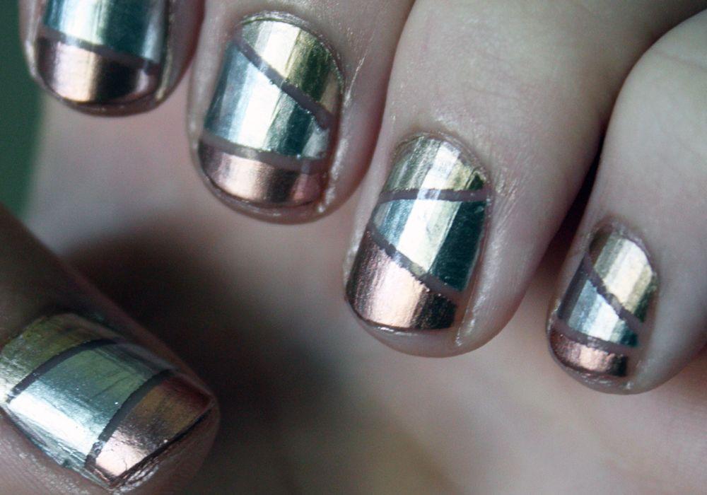 Essie Mirror #Metallics : Gold, Silver, Bronze