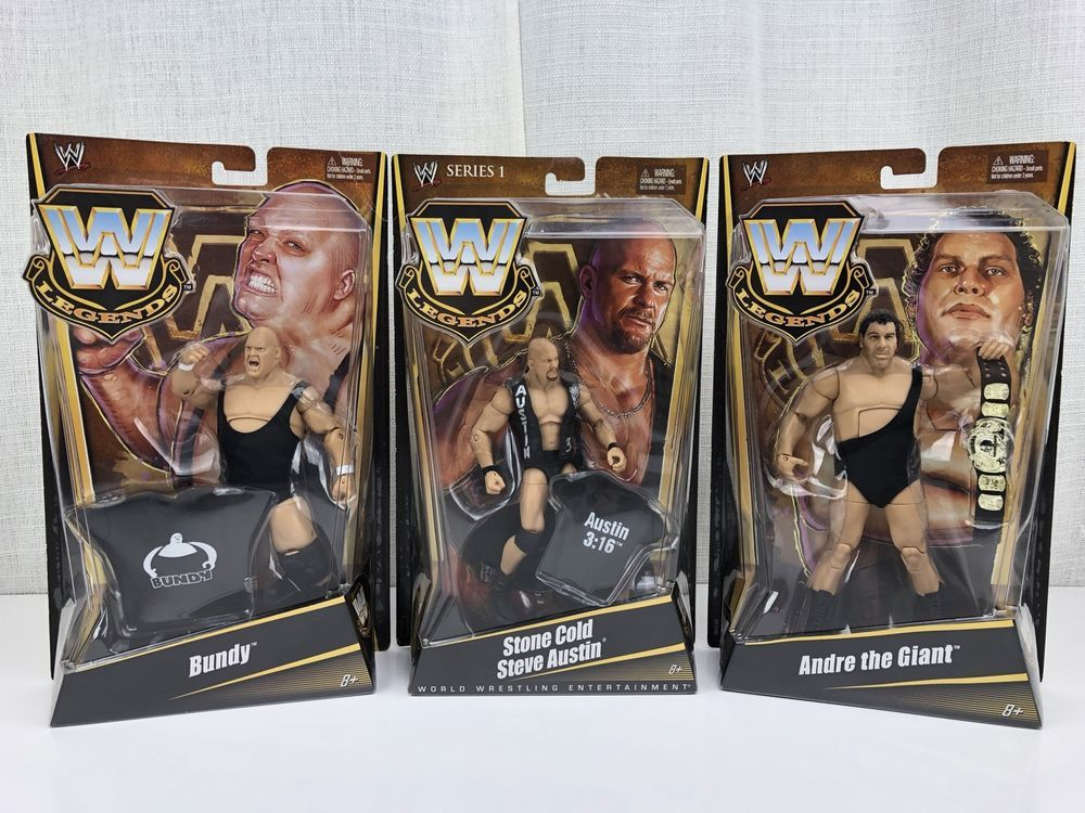 WWF WWE jakks King Kong Bundy head Wrestling Figures Wwf hasbro mattel