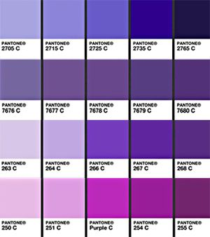 Your Wedding Color Purple