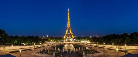 Portfolio panoramique de Paris 3/8 - Photos panoramiques de Paris au crépuscule par Arnaud Frich.