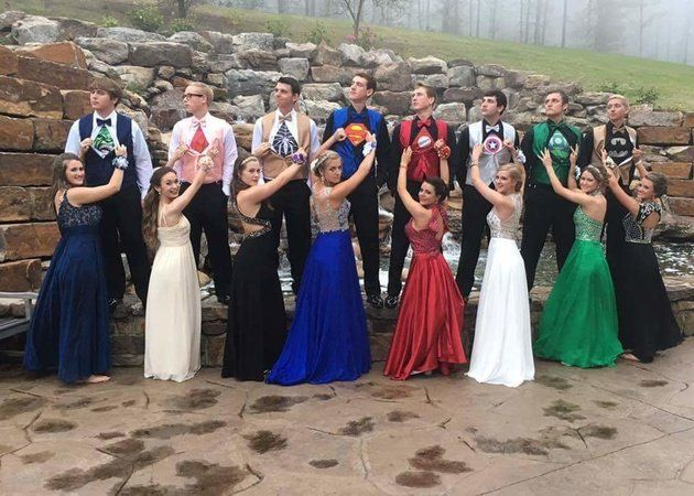 Superhero Prom Dresses
