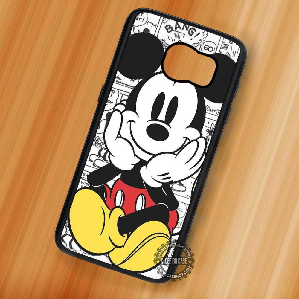 best service 62304 c22ce Cute Mickey Mouse Comics Cute - Samsung Galaxy S8 S7 S6 Note 8 Cases ...
