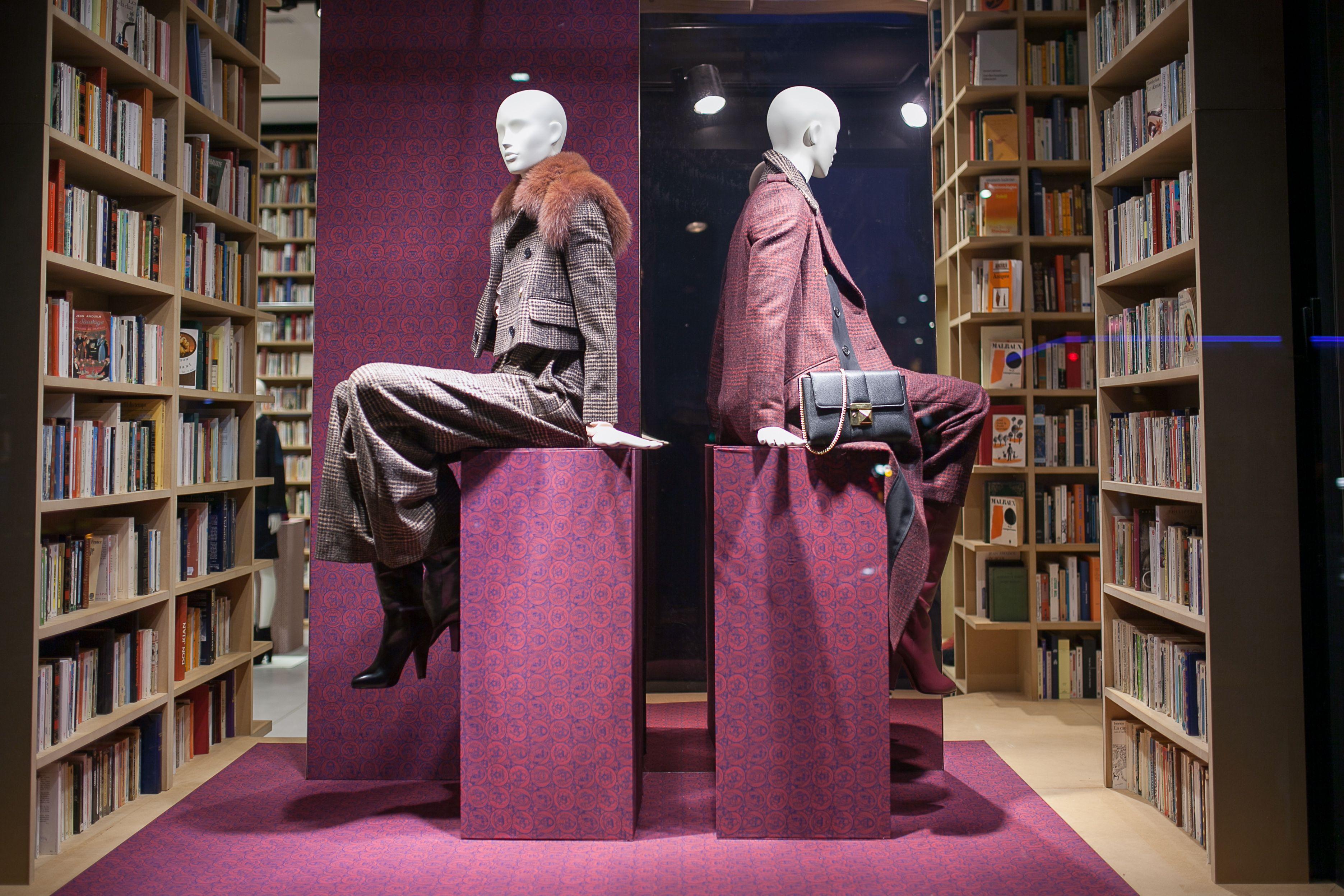 Les mannequins de Cofrad de la collection Pure 3 pour les vitrines de Sonia Rykiel à Paris