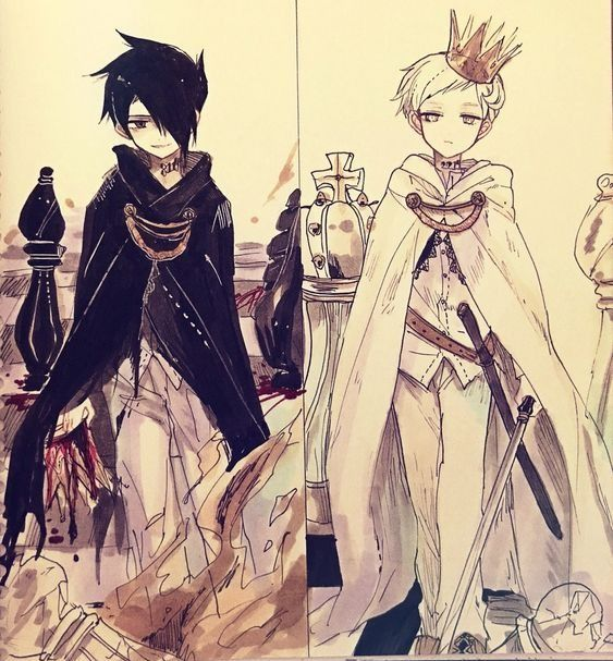 ray and norman the promised neverland
