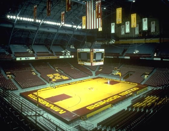 University Of Minnesota Williams Arena Interior 2 University Of Minnesota University Sports Photos