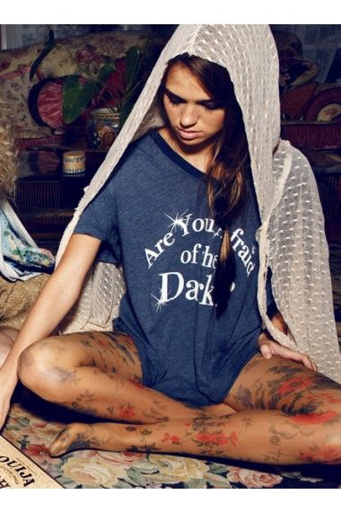 are you afraid of the dark shirt :)
