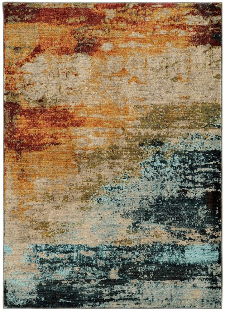 Sedona 6365a Watercolor Rug Colorful Rugs Oriental Weavers