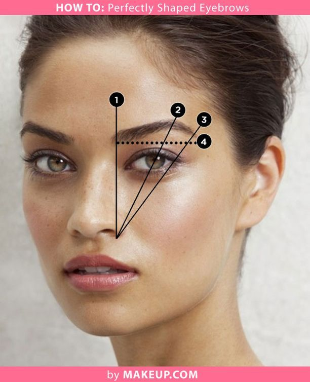 How To Shape Your Eyebrows In 2018 Makeup Pinterest Eyebrow