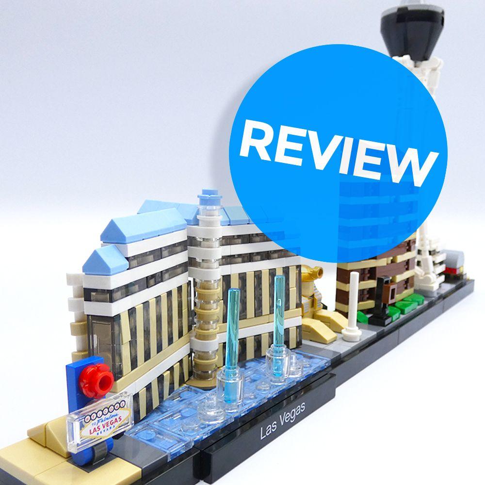 Review LEGO 21047 Las Vegas Veel Bouwplezier! Lego