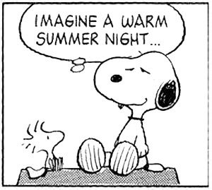 Snoopy in black & white! (112)