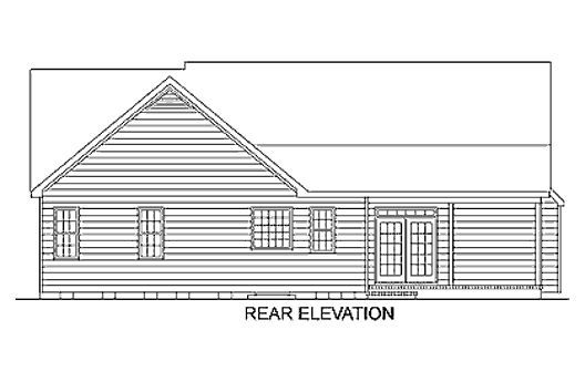 1660 square feet, 3 bedrooms, 2 batrooms, on 1 levels, House Plan Number 1