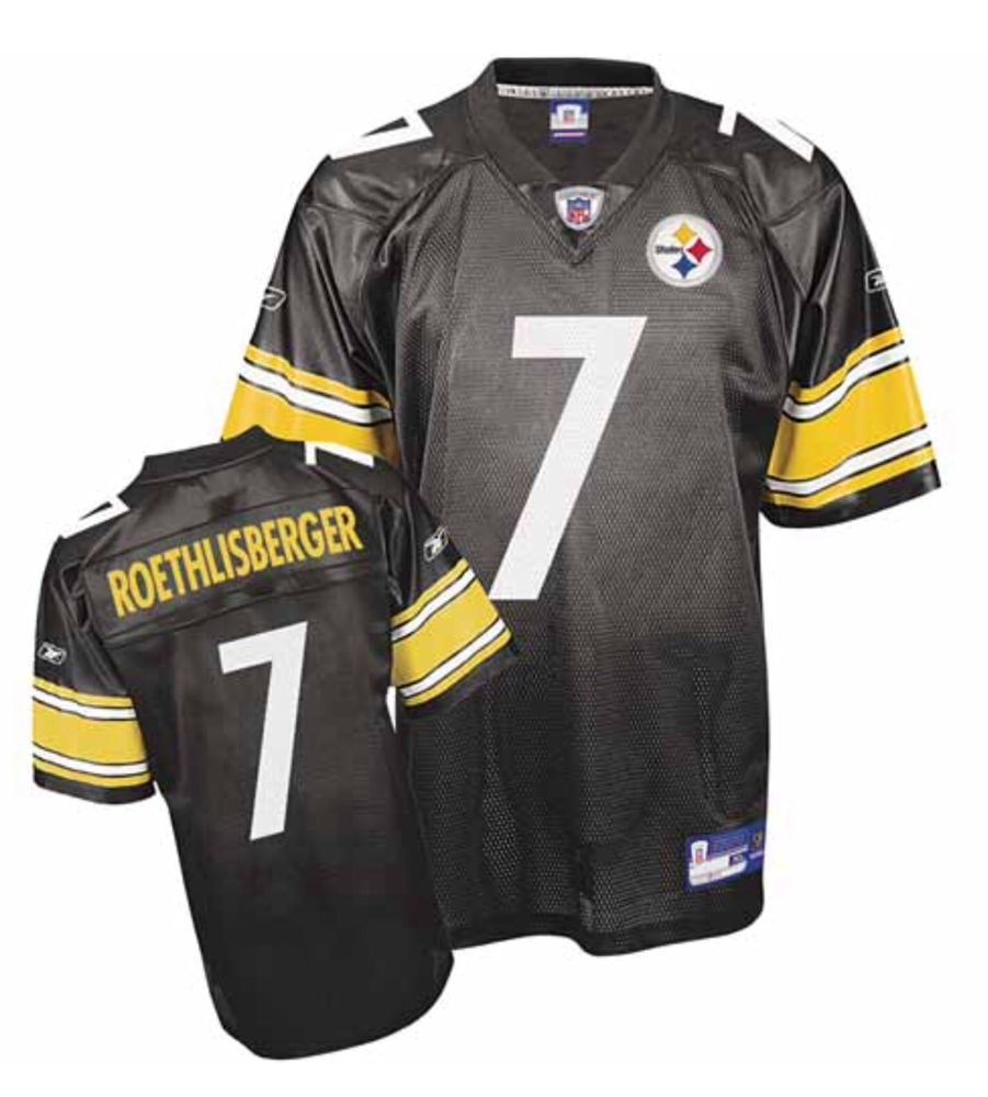 c0bd0989d74 Pittsburgh Steelers Ben Roethlisberger #7 Reebok Replica Screened 5XL Jersey  #Reebok #PittsburghSteelers
