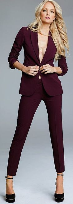 tailleur pantalon femme bordeaux