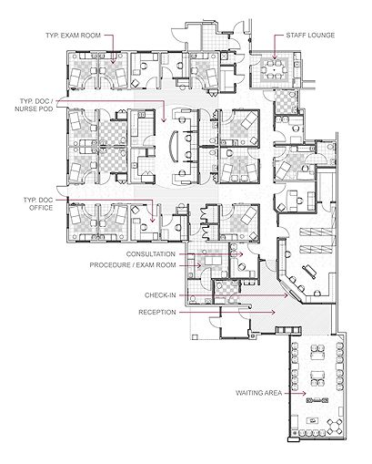 Floor Plan With Labels Office Design
